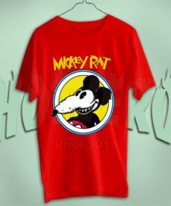 Mickey Rat Vintage Cartoon Movie T Shirt