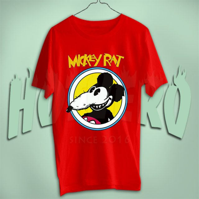 Mickey Rat Vintage Cartoon Movie T Shirt