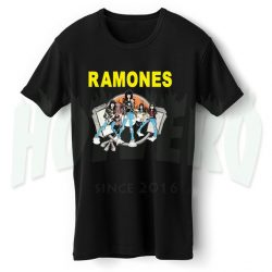 Ramones Road To Ruin Tour T Shirt