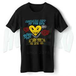American Pop Art 80s Collage T Shirt Design