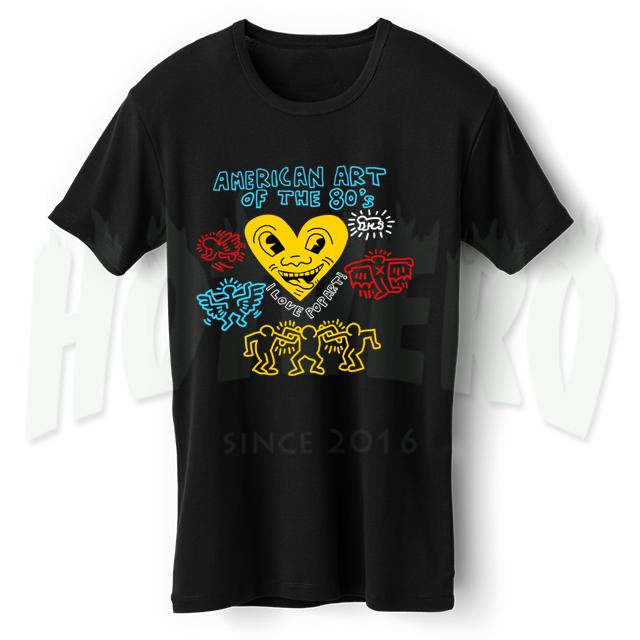 American Pop Art 80s Collage T Shirt Design Hotvero