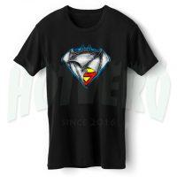 Batman & Superman Classic Logo T Shirt