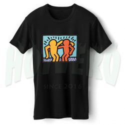 Best Friend American Pop Art T Shirt Design