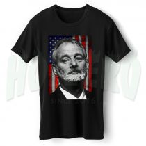 Bill Murray American Flag T Shirt