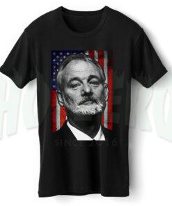 Bill Murray American Flag T Shirt