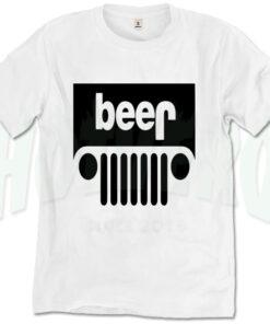 Car & Beer T Shirt