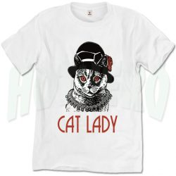 Cat Lady Funny Kitten T Shirt