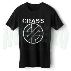 Crass Punk Band T Shirt