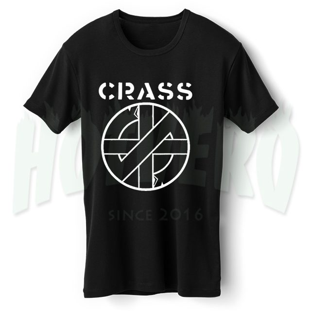 Crass Punk Band T Shirt
