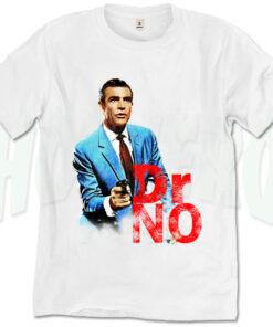 Dr No Vintage James Bond T Shirt