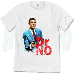 Dr No Vintage James Bond T Shirt