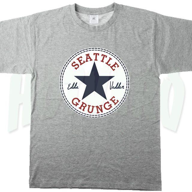Eddie Vedder Seatle Grunge T Shirt