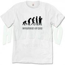 Evolution Of Beer Man T Shirt