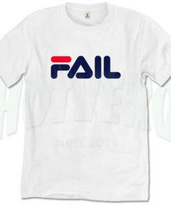 Fail Fila Symbol Inspired T Shirt