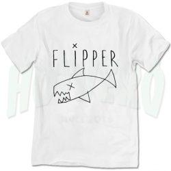 Flipper Kurt Cobain Outfit T Shirt