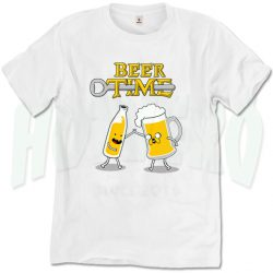 Funny Adventure Time T Shirt Beer Time