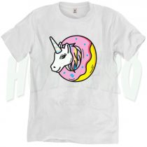 Funny Unicorn Donut Sprinkles Urban T Shirt