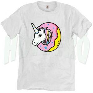 Funny Unicorn Donut Sprinkles Urban T Shirt
