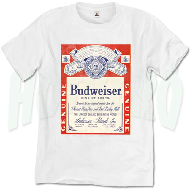 Genuine King Beer T Shirt Design