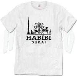 Habibi Dubai Camel Parody T Shirt