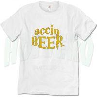 Harry Potter Spell Accio Beer T Shirt