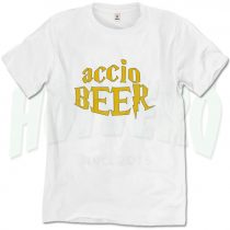 Harry Potter Spell Accio Beer T Shirt