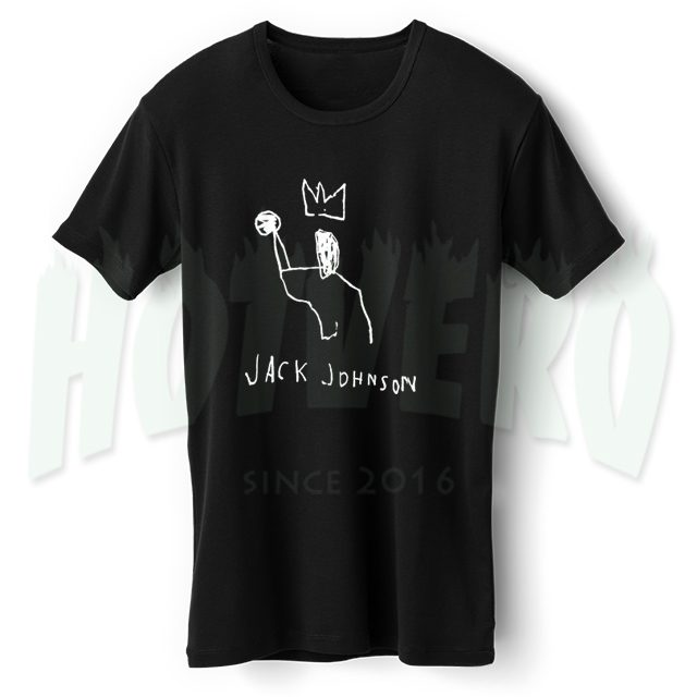 Jack Johnson Basketball T Shirt