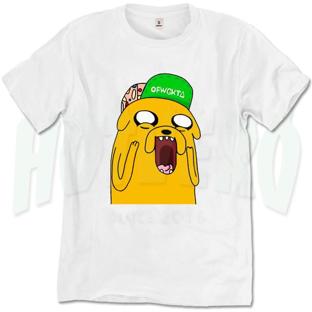 Jake Adventure Time Odd Future Wolf Gang T Shirt