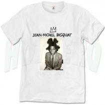 Jean Michel Basquiat Crown T shirt