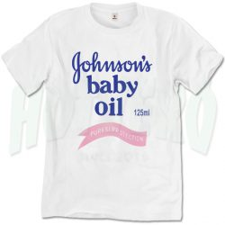 Johnson's Baby Oil Puresi Protection Classic T Shirt