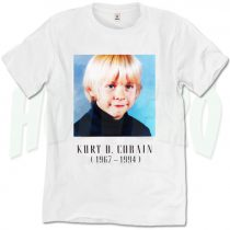 Kurt Cobain Child Nirvana T Shirt
