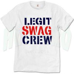 Legit Swag Crew T Shirt