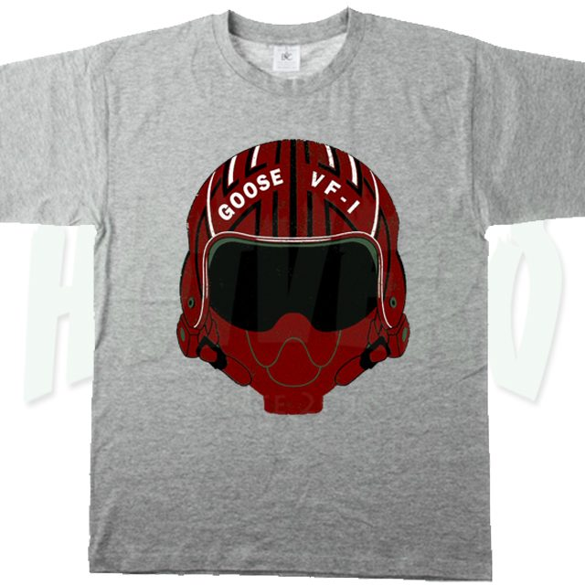 Maverick Goose Helmet T Shirt