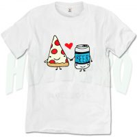 Pizza & Beer is Best Friend T Shirt