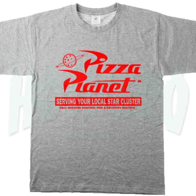 Pizza Planet Symbol T Shirt Classic Pizza Hotvero