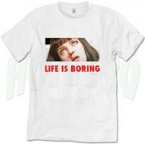 Pulp Fiction Mia Wallace Overdose T Shirt