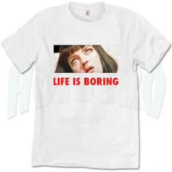 Pulp Fiction Mia Wallace Overdose T Shirt
