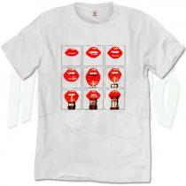 Sexy Lips Drink Coke Urban T Shirt