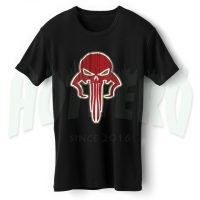 Skull Of Mandalorian Star Wars T Shirt