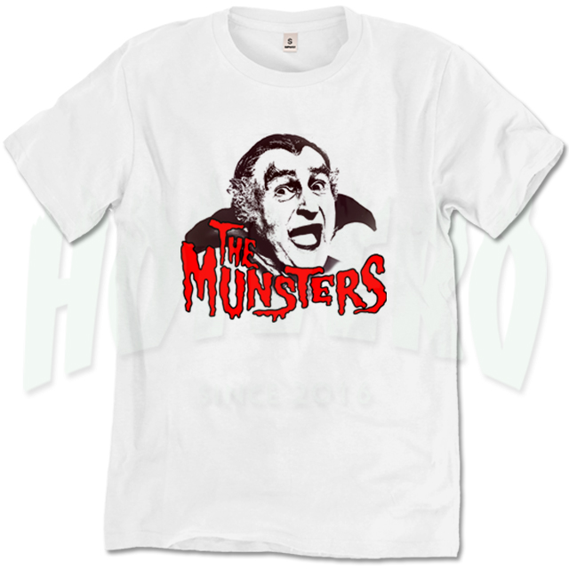 The Munsters Grandpa Classic Movie T Shirt