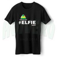 This Is My Elfie Shirt 80s Slogan T Shirt
