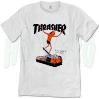 Thrasher Skateboard Neckface Urban T Shirt