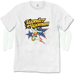 Wonder Woman Vintage T Shirt Men Women