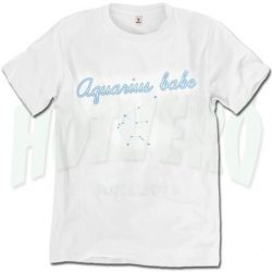 Aquarius Feminist Babe Cute T Shirt For Women