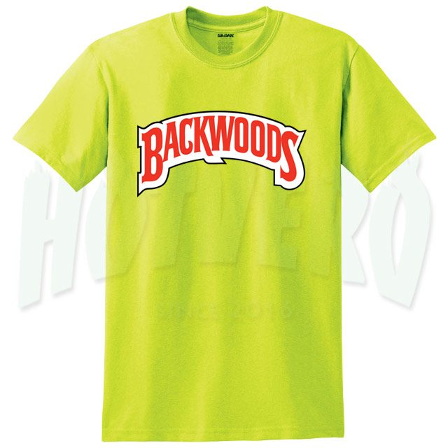 Backwoods Cigar Yellow T Shirt For Men And Women
