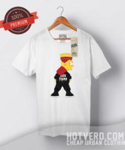 Bart Simpson Fuck Trump Urban T Shirt Style