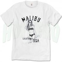Beach Party Malibu California USA T Shirt