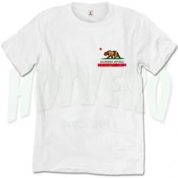 California Republic T Shirt Men Women Size