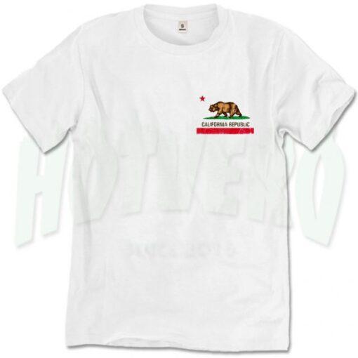 California Republic T Shirt Men Women Size