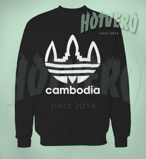 Cambodia Urban Sweatshirt Adidas Inspired